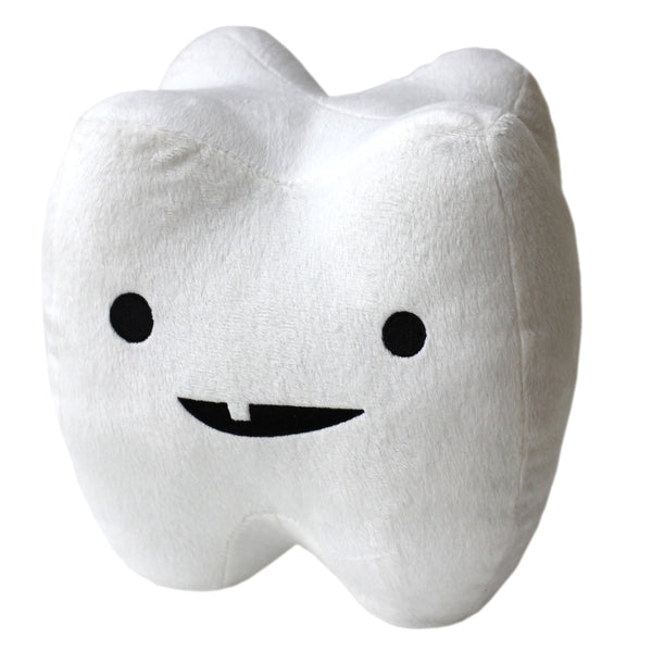 Tooth Plush - You Can't Handle the Tooth - Plush Organ Stuffed Toy Pillow