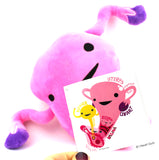 Uterus Plush - Womb Service! - Plush Organ Stuffed Toy Pillow