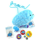 Brain Plush - All You Need Is Lobe - Plush Organ Stuffed Toy Pillow