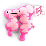 Colon Plush - You Move Me - Plush Organ Stuffed Toy Pillow