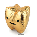 Gold Tooth - Metallic Vinyl Plush - Plush Organ Stuffed Toy Pillow