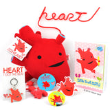 Heart Plush - I Got The Beat! - Plush Organ Stuffed Toy Pillow