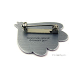 Mammary Gland Lapel Pin - Gland of Milk & Honey