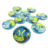 Spleen Ninja Buttons - Set of 10
