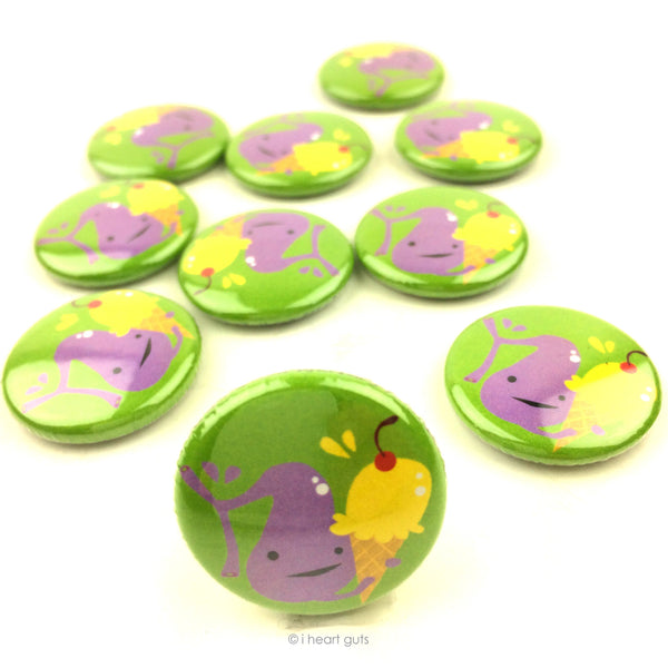 Gall of the Wild Gallbladder Buttons - Set of 10