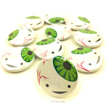 Eyeball Buttons - Set of 10