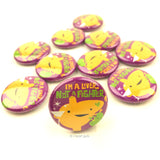 I'm a Liver Not a Fighter Buttons - Set of 10