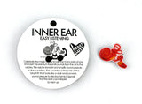 Inner Ear Lapel Pin - Now Hear This