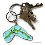 Pancreas Keychain - Insulin for the Win - Pancreas Design Enamel Keychain