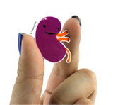 Kidney Lapel Pin - Urine My Heart!