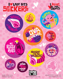 *NEW* - I Love Lady Bits Stickers