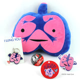 Lungs Lapel Pin - I Lung You