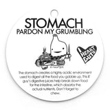 Stomach Lapel Pin - I Ache For You!