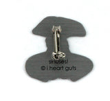 Sinus Lapel Pin - Don't Call Me Stuffy
