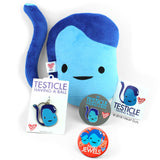 Testicle Keychain - Having a Ball