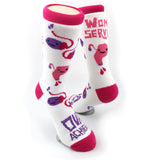 *NEW* Uterus and Ovary Socks - Ova Achiever + Womb Service