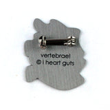 Vertebrae Lapel Pin - We've Got Your Back