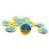 All You Need is Lobe Brain Buttons - Set of 10