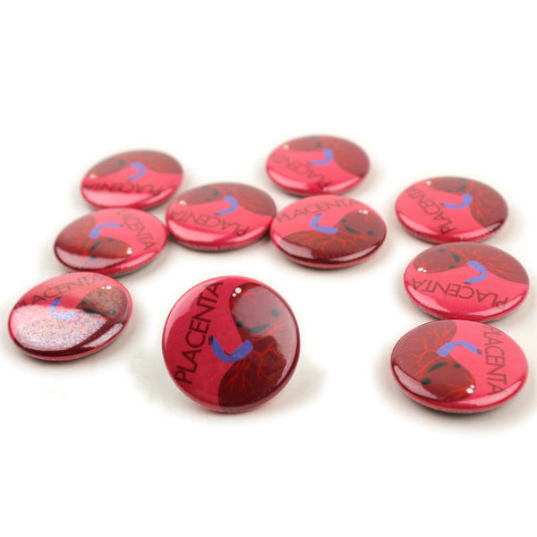 Placenta Buttons - Set of 10