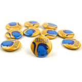 Testicle Having a Ball Buttons - Set of 10