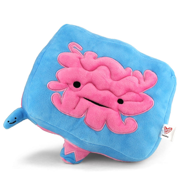 Intestine + Appendix Plush - Go With Your Gut! - Plush Organ Stuffed Toy Pillow