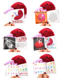 Placenta Plush - Baby's First Roommate - Plush Organ Stuffed Toy Pillow