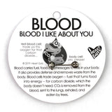 Blood Lapel Pin - All You Bleed Is Blood
