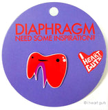*NEW* - Diaphragm Lapel Pin - Need Some Inspiration?