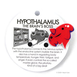 Hypothalamus Lapel Pin - Gland of the Living!