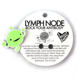 Lymph Node Lapel Pin - Love at First Cyte!