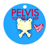 Pelvis Lapel Pin - You're So Hip