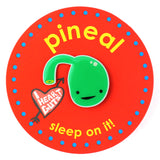 Pineal Gland Lapel Pin - Sleep On It!