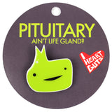 Pituitary Gland Lapel Pin - Glandmaster Flash!