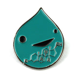 *NEW* Testosterone Art Enamel Lapel Pin - Game of Hormones