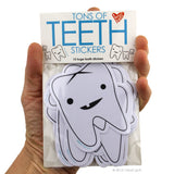 Tons of Teeth Stickers - 15 Tooth Stickers