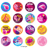 Vadge Variety Buttons - 16 Buttons