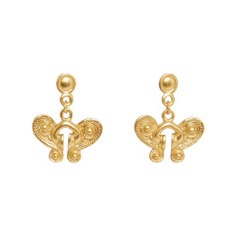Mariposa Gold Earrings