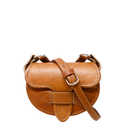 Medallo Leather Bag Cognac