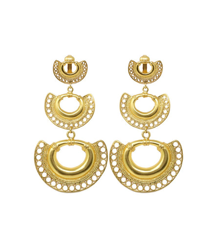 Tres Almas Earrings