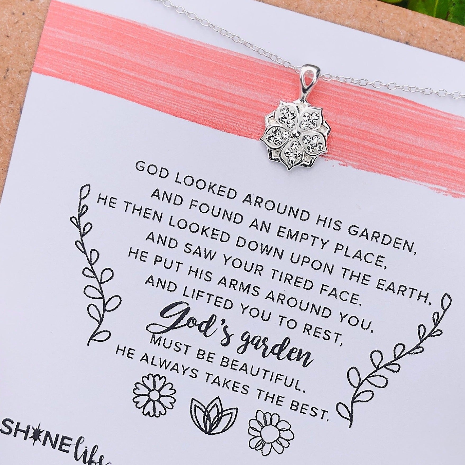 NEW God's garden necklace