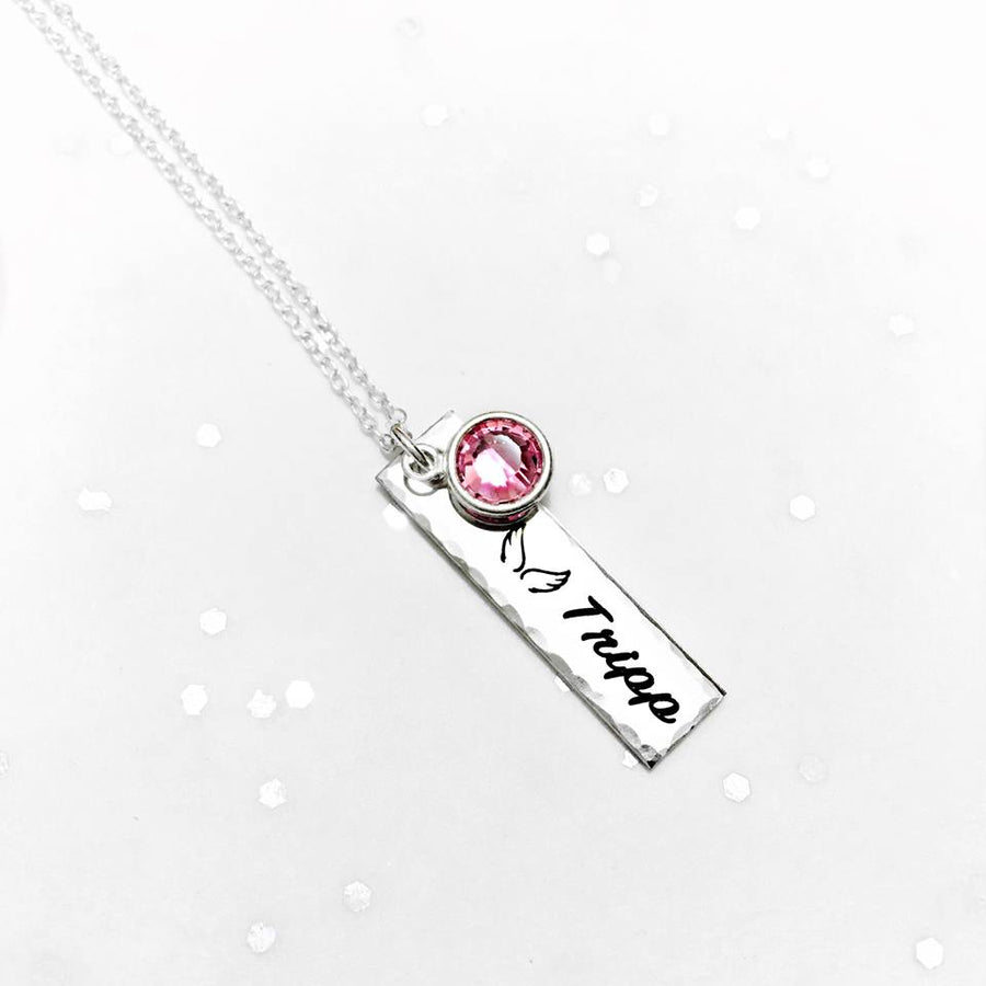 Personalized Tag Necklace