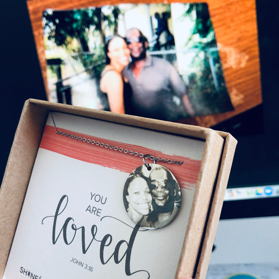 Custom Photograph Necklace