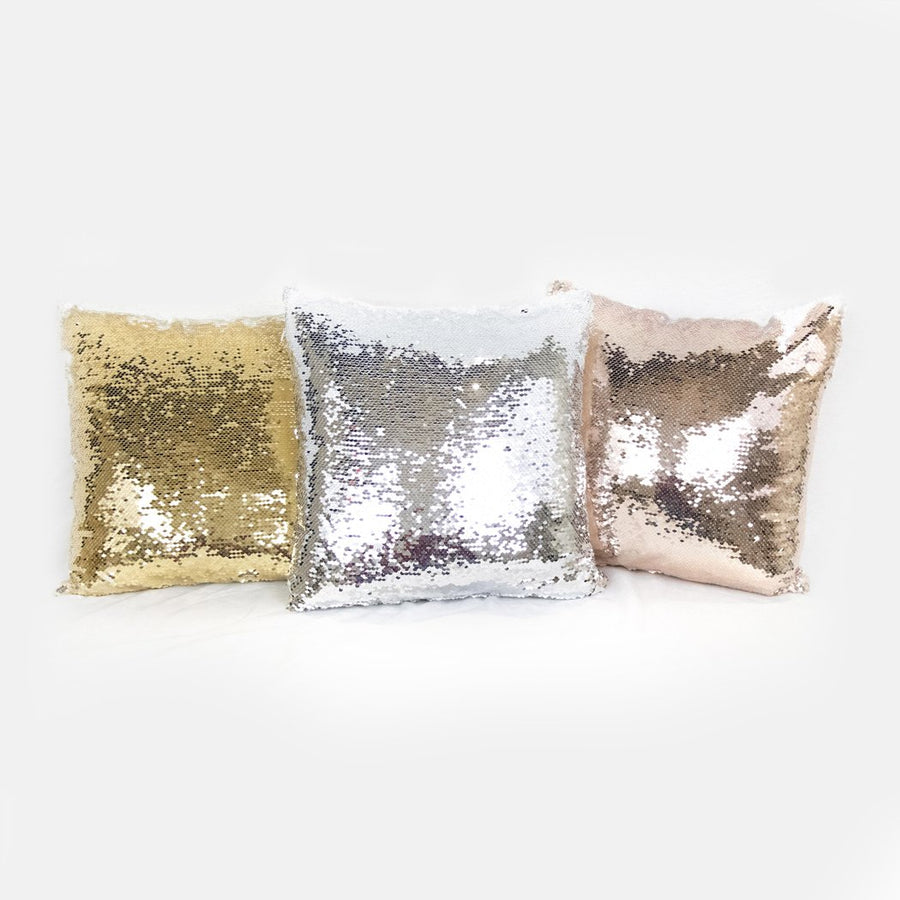 Be The Light Sequin Reversible Pillow Case