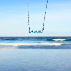 upon the waters necklace