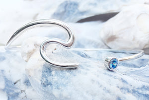 waters aqua bangle