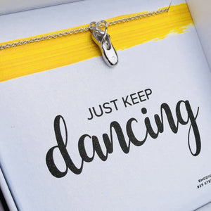 keep dancing necklace