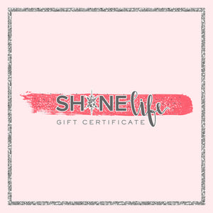Shine Card Certificate