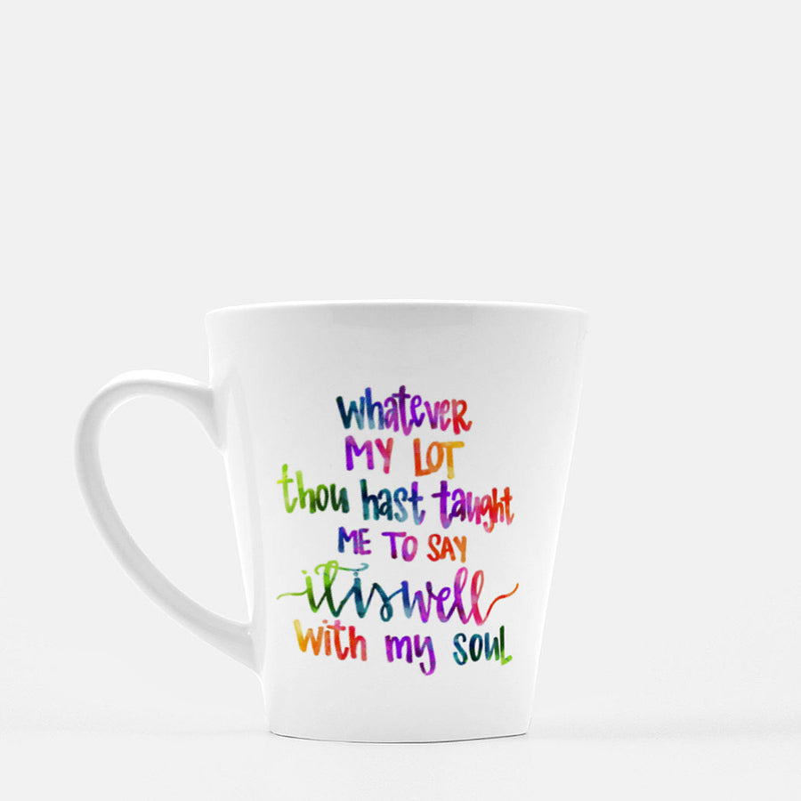 Sip and SHINE Latte Mug