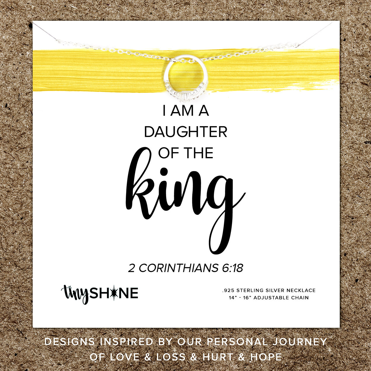 daughter of the king necklace ~ youth