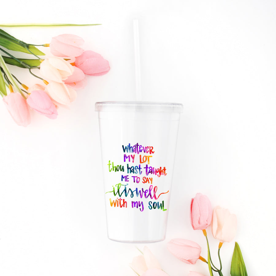 Sip and SHINE Straw Tumbler